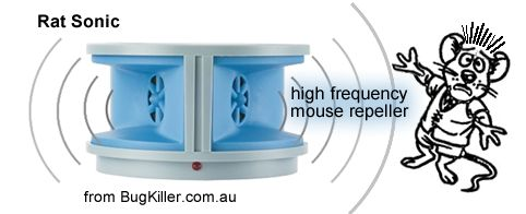 sonic mouse repeller